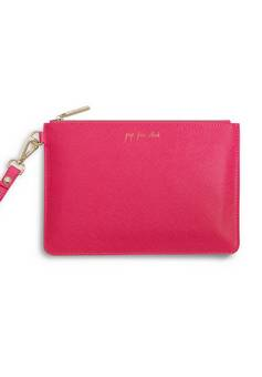 Katie Loxton Secret Message Pouch Pop Fizz Clink