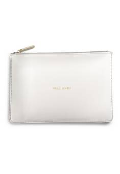 Katie Loxton Perfect Pouch in Chalky White