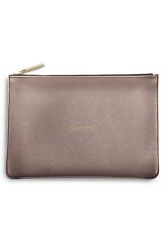 Katie Loxton Perfect Pouch In Pewter
