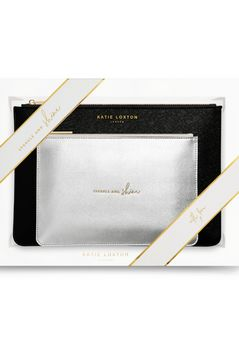 Katie Loxton Perfect Pouch Sparkle and Shine gift set