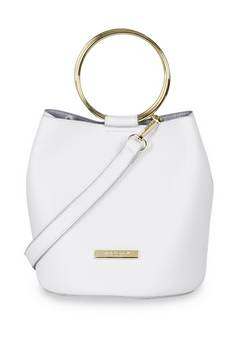 Katie Loxton  Suki bucket bag White