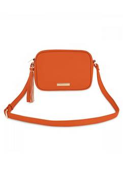 Katie Loxton Sophia Tassel Orange Bag