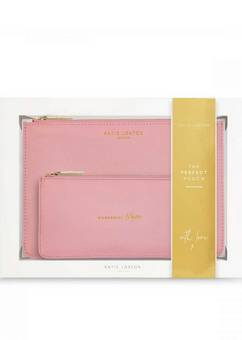 Katie Loxton Perfect Pouch Wonderful Mum Pink Gift Set