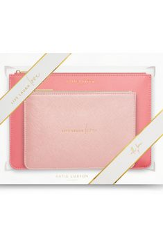 Katie Loxton Perfect Pouch Live love Laugh gift set