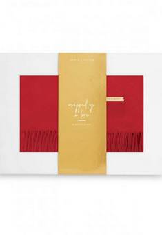 Katie Loxton Red Scarf