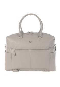 Kerikit Thea Leather Changing bag in  Grey
