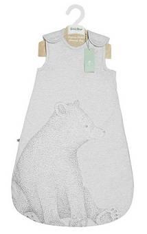 Little Green Sheep Bear Print Sleeping bag