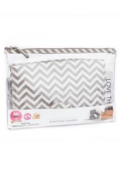 Melobaby in Chevron Changing wallet