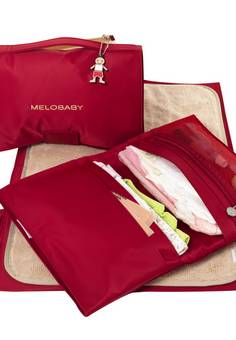Melobaby Red changing wallet