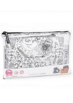 Melobaby Wallet in Black and White