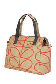 Orla Kiely Sixties Messenger Giant Linear changing bag