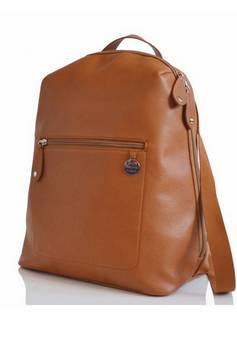 PacaPod Hartland  Leather Changing Bag in Tan