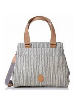 Pacapod Richmond Changing bag in Dove Herringbone