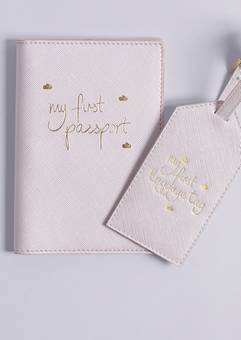 Katie Loxton My first Passport and luggage label