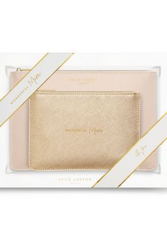 Katie Loxton Perfect Pouch Wonderful Mum gift set