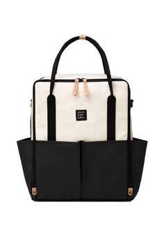Petunia Pickle Bottom Inter-mix Changing bag in Black and Birch