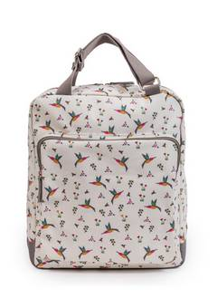 Pink Lining Wonder Bag Hummingbird baby changing bag