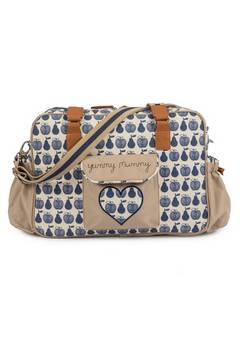 Pink Lining Apples and Pears Yummy Mummy Changing bag