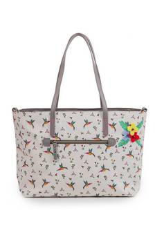 Pink Lining Notting Hill Tote Hummingbird Changing bag