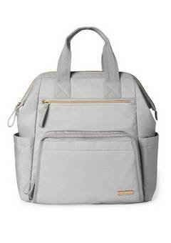 Skip Hop Mainframe wide Cement backpack