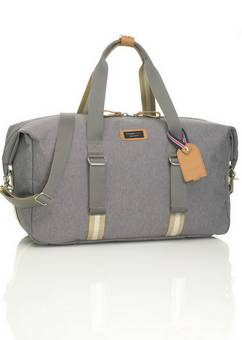 Storksak Duffle Travel Bag in grey