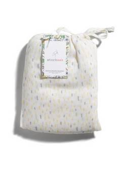 Storksak Single Muslin Raindot Print