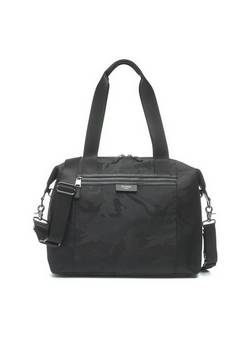 Storksak Stevie Lux Camo Black Changing bag