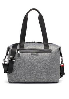 Storksak Stevie Lux Grey Marl Changing bag