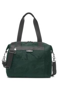 Storksak Stevie Lux Camo Emerald Changing bag