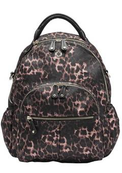 Kerikit Vicki Leopard Vegan backpack changing bag