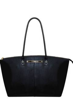 Born in Britain Wyn tote in Black